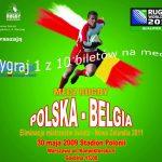 10 biletów do wygrania na mecz POLSKA -BELGIA