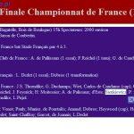 Polak pierwszym mistrzem Francji