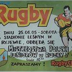 """Galeria zdięć z Mistrzostw Polski Juniorów w rugby """"7"""""""